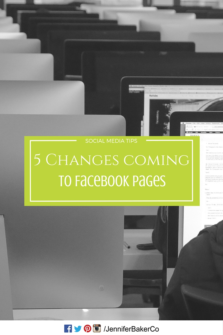 2016 - 5 major changes coming to facebook