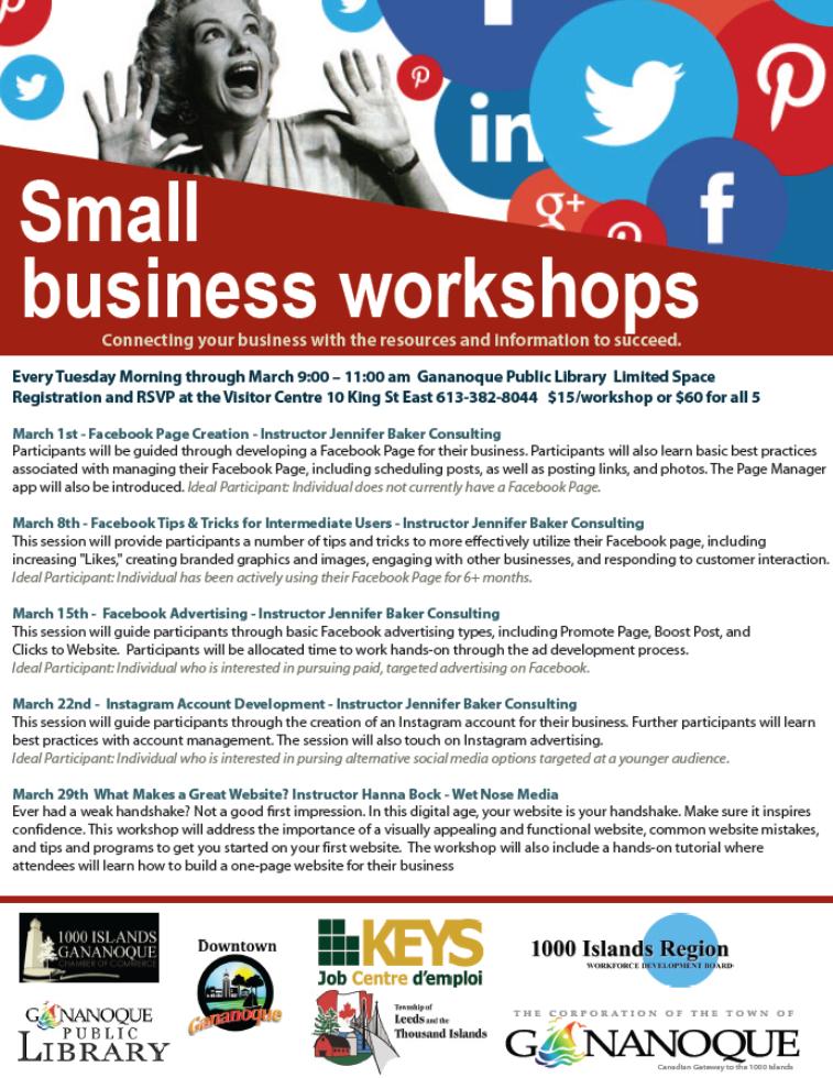 2016 - Social Media Workshops