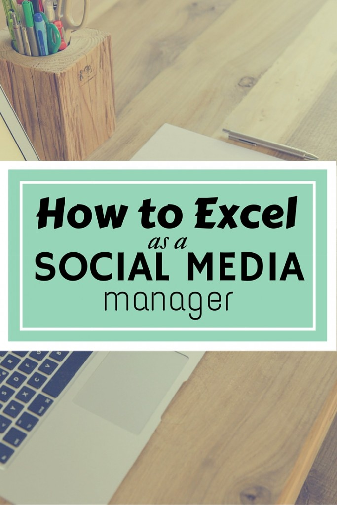 How to excel as a social media manager