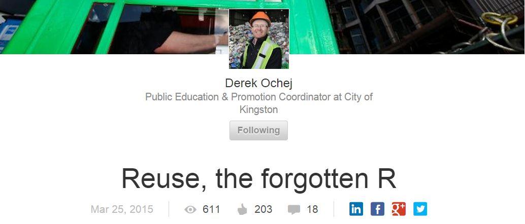 LinkedIn - Derek