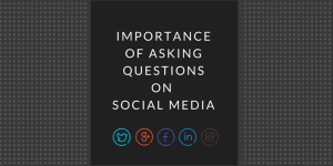 asking questions on social
