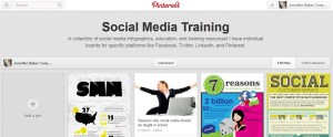 Social Media Training Pinterest