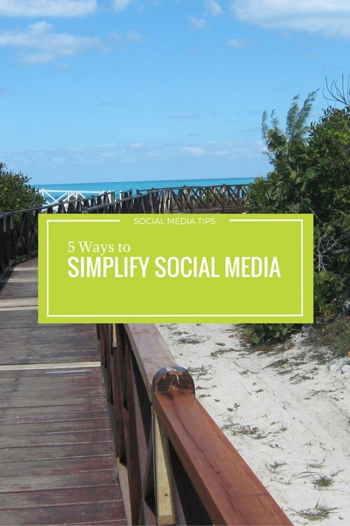 simplify social media