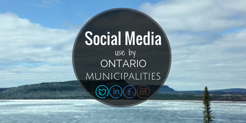 social media municipalities